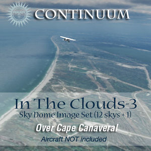 In The Clouds 3 - Over Cape Canaveral - sky dome pak
