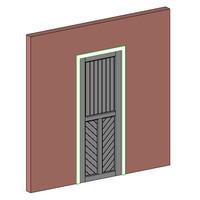 Mission Single Door