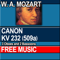 W.A. MOZART - CANON KV 232