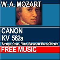 W.A. MOZART - CANON KV 562a