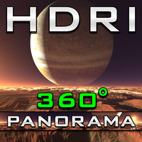 HDRI Panorama - Planet PAQ