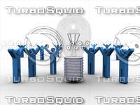Sharing a Winning Idea-3D Concept Art