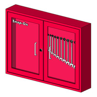 Snap-On KRA276D Plexiglass Door Wall Cabinet