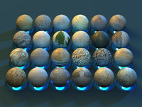 High Quality Cinema 4D Stone Materials Pack
