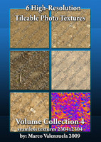 6 High-res Seamless Texture Tiles Vol. 4