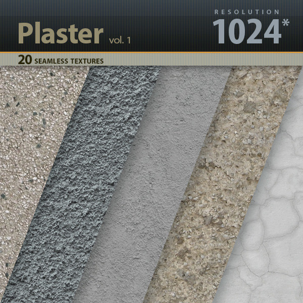 Wall Plaster Textures vol.1