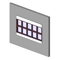 Window, CM, QNT, Muntin, Sill-Head, Trim