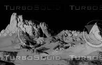 Muddy Alien Mountain