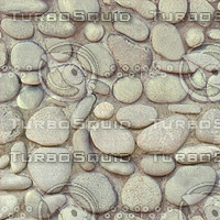 cobbled paving