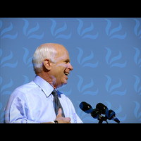 John McCain Laughing