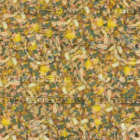Dry leaves seamless pattern