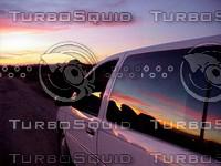 California - Mojave Desert Sunset