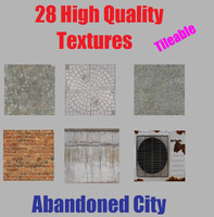 Abandoned City Textures Vol.1