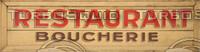 Old Restaurant Sign