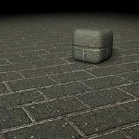 2 materials brick