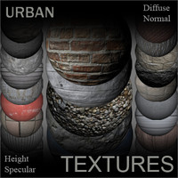Urban Textures for Shaders