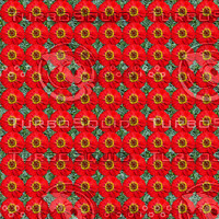 ZInnia flowers seamless pattern