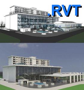 Revit multi purpose building 05