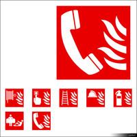 2D Symbol Fire Signs 00933se