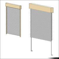 Venetian Blind Exterior 00938se