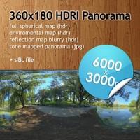 Hi Res Spherical HDRI map [P012] [6000x3000px]