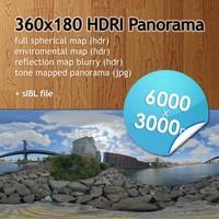 Hi Res Spherical HDRI map [P016] [6000x3000px]