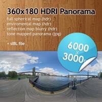 Hi Res Spherical HDRI map [P017] [6000x3000px]