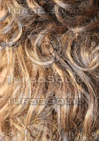 brown human hair texture