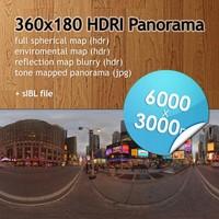 Hi Res Spherical HDRI map [P025] [6000x3000px]