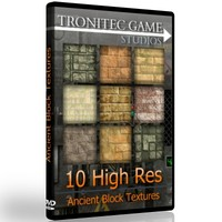 10 High Res Ancient Block Textures