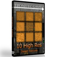 10 High Res Desert Textures