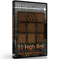 10 High Res Dirt & Mud Textures