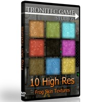 10 High Res Frog Skin Textures