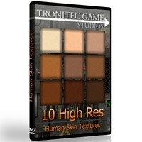 10 High Res Human Skin Textures