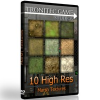 10 High Res Marsh Textures