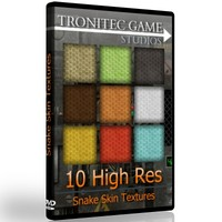 10 High Res Snake Skin Textures