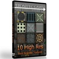 10 High Res Vent & Grate Textures