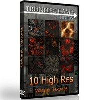 10 High Res Volcanic Textures