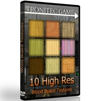 10 High Res Wood Board Textures