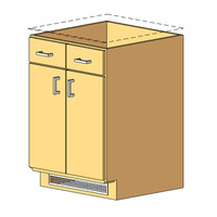 12_Base Cabinet_2Drawer-2Door - with vent