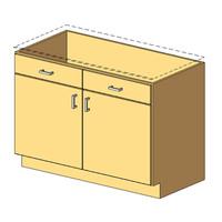 12_Base Cabinet_2Drawer-2Door