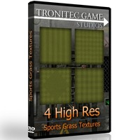 4 High Res Sports Grass Textures