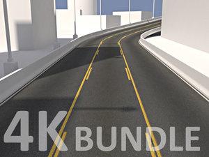 4K Road Texture Bundle