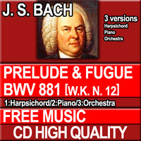 J.S. BACH - Prelude and Fugue BWV 881