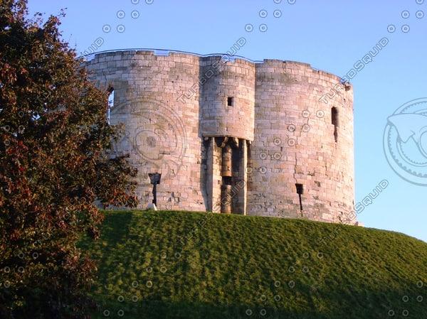 Cliffords Tower, York, United Kingdom