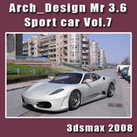 Arch e Design collection vol.7 mental ray 3.6