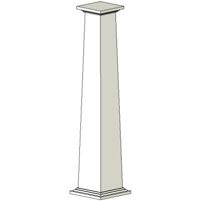 Building other column for Tapered craftsman columns