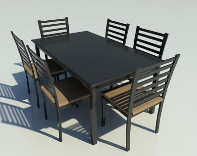 Building Rfa Dining Table Chairs