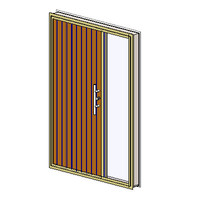 Ext Single+1xSideLite-In Aluminum-TimberTG&V-Architrave (NZ)