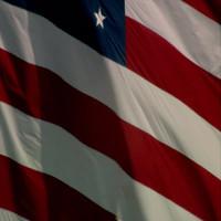 US Flag Backdrop HD 1080 Video